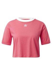adidas Originals - CROP TOP - Basic T-shirt - pink - 0
