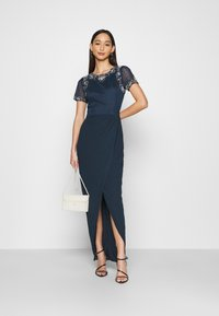 Lace & Beads - FREYA WRAP MAXI - Occasion wear - navy - 1