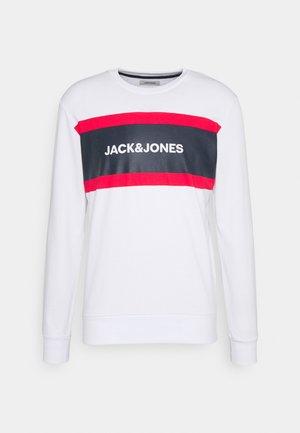 JJSHAKE CREW NECK - Sweatshirt - white