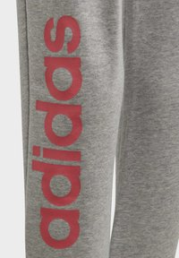 adidas Performance - LINEAR JOGGERS - Tracksuit bottoms - grey - 3