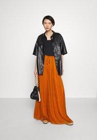 Diane von Furstenberg - ADAIR - Trousers - orange - 1