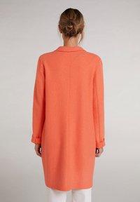 Oui - Classic coat - apricot - 2