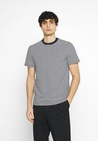 Farah - DAYTONA TEE - Print T-shirt - true navy - 0