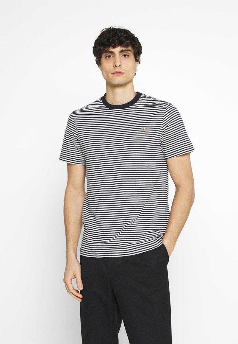 Farah - DAYTONA TEE - Print T-shirt - true navy