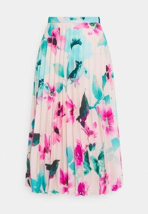 PLEATED SKIRT - Veckad kjol - ivory