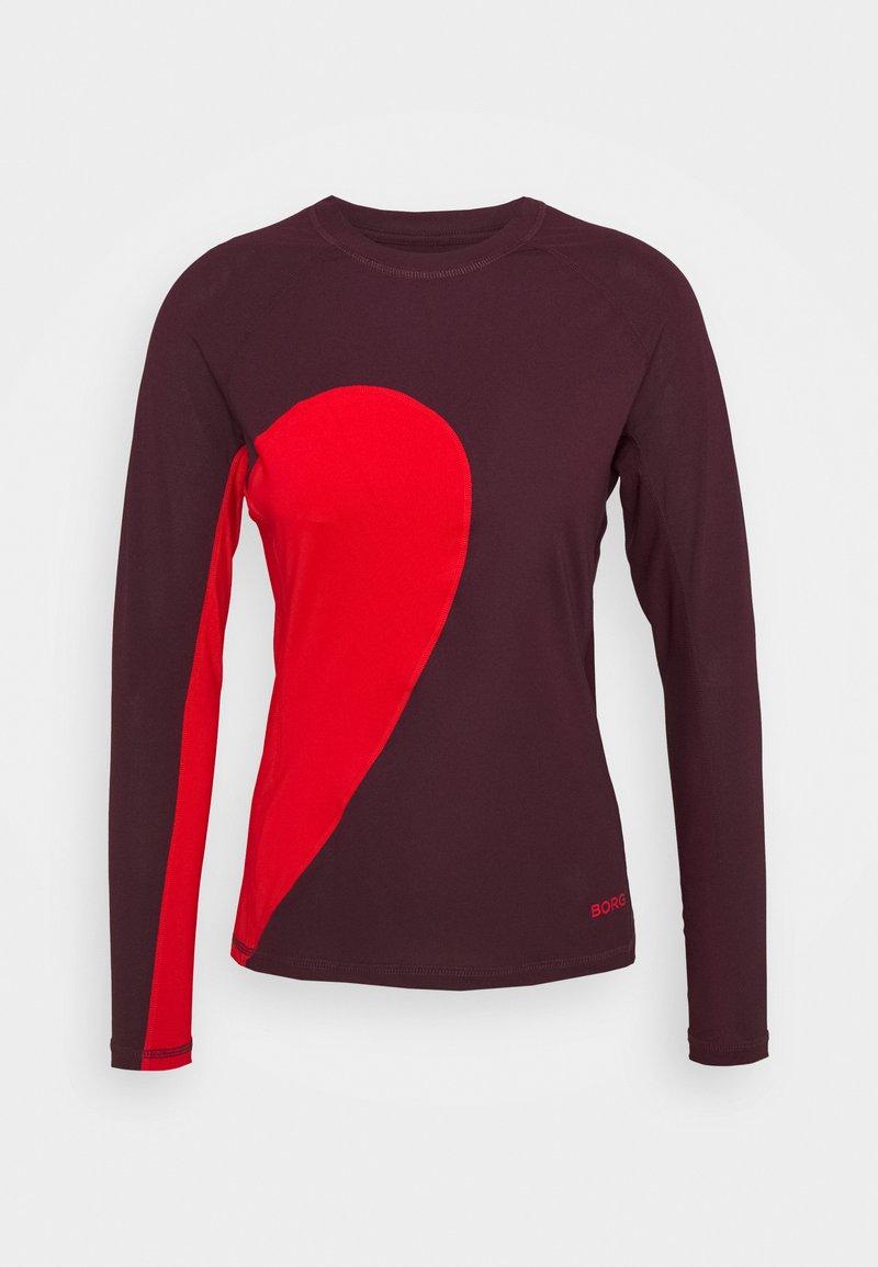 Björn Borg - CARY TEE - Sports shirt - winetasting