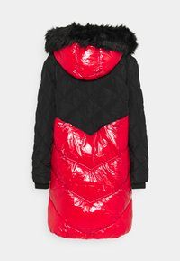 River Island - Winter coat - red/black - 9