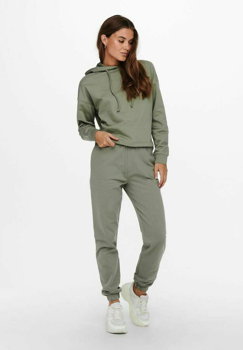 ONLY - ONLDREAMER LIFE NOOS - Tracksuit bottoms - shadow