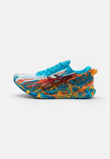 NOOSA TRI 13 - Obuwie do biegania startowe - digital aqua/marigold orange