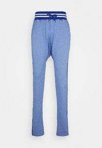 PAUL - Tracksuit bottoms - heather blue