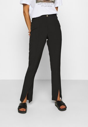 LUNI DRESSED PANT - Kalhoty - black