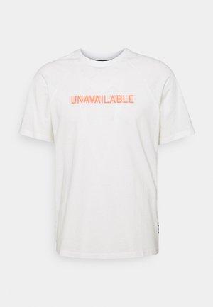 ONSPINT RAGLAN TEE - Apdrukāts T-krekls - star white