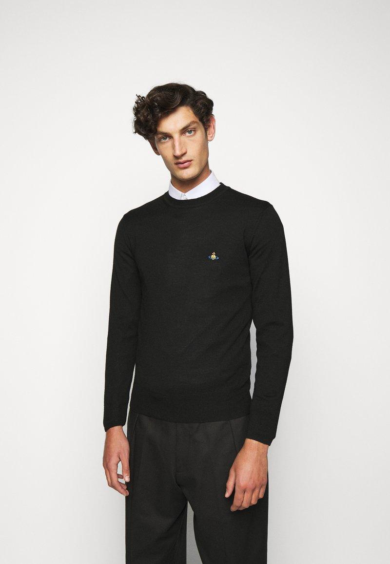 Vivienne Westwood - CLASSIC ROUND NECK - Pullover - black