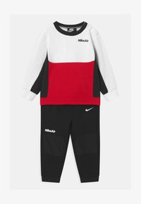 Nike Sportswear - AIR CREW SET - Tracksuit - black - 0
