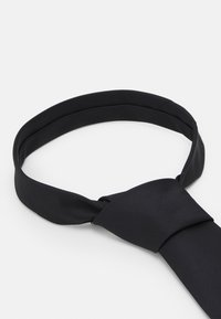 HUGO - TIE REFLECTIVE - Cravate - black - 3