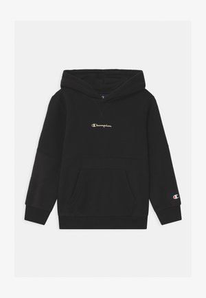 CHAMPION X ZALANDO HOODED UNISEX - Sweatshirts - black