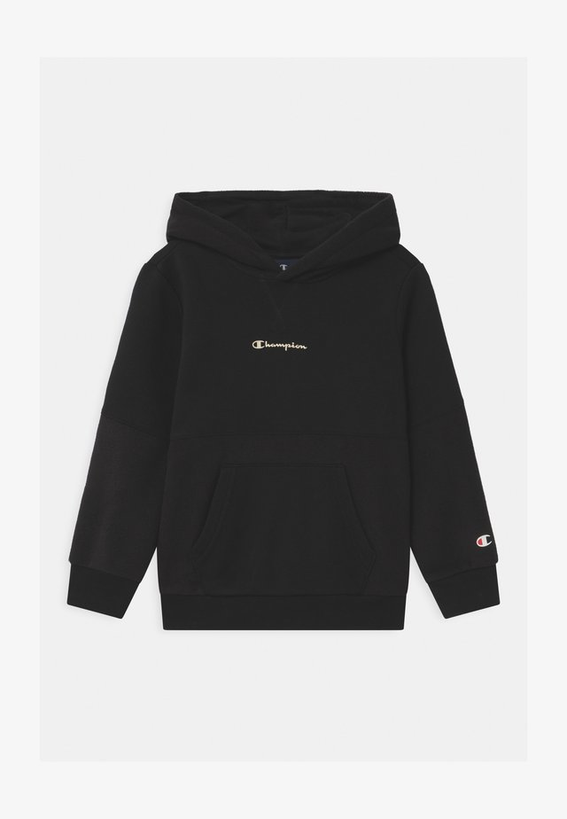 CHAMPION X ZALANDO HOODED UNISEX - Sweatshirt - black