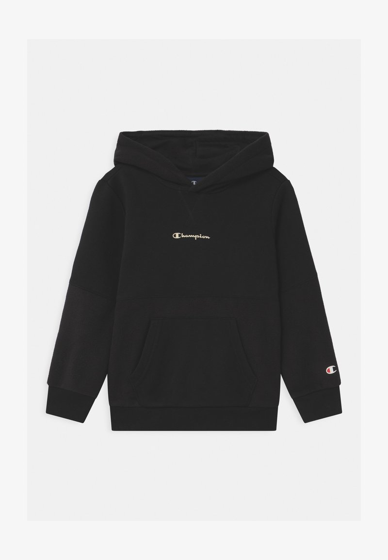 Champion - CHAMPION X ZALANDO HOODED UNISEX - Sweatshirts - black