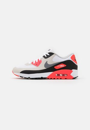 AIR MAX 90 - Obuwie do golfa - white/cool grey/black/neutral grey/infrared