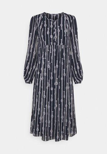SAPCED SAILOR STRIPE - Day dress - midnight blue/white