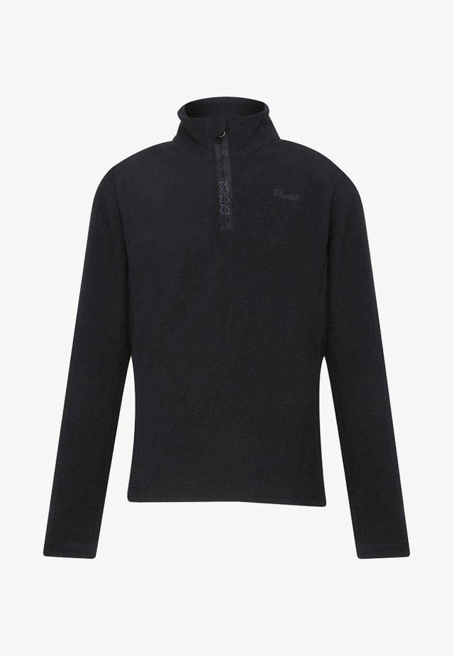 MUTEY  - Fleece jumper - schwarz