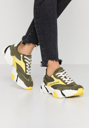 SIGMA - Sneakers - deep depths/blazing yellow