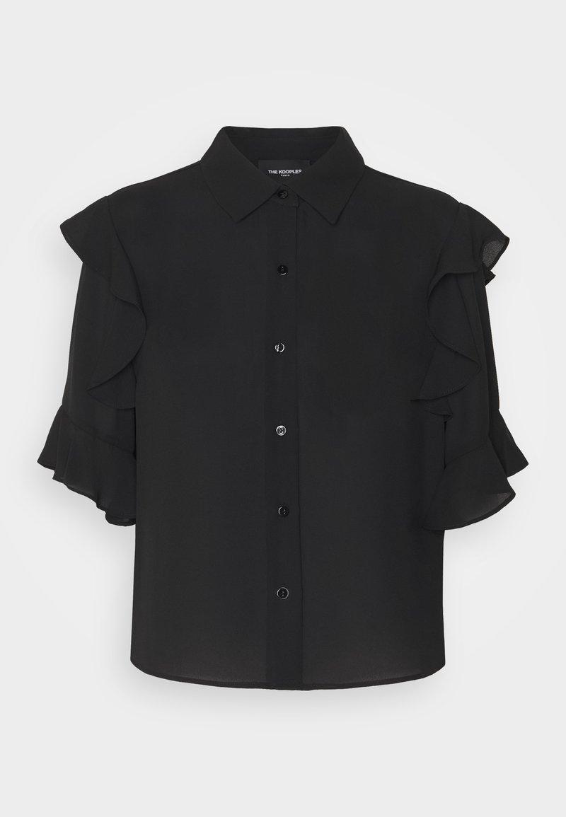 The Kooples - SHIRT - Košile - black