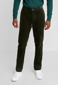 Sisley - Trousers - khaki - 0