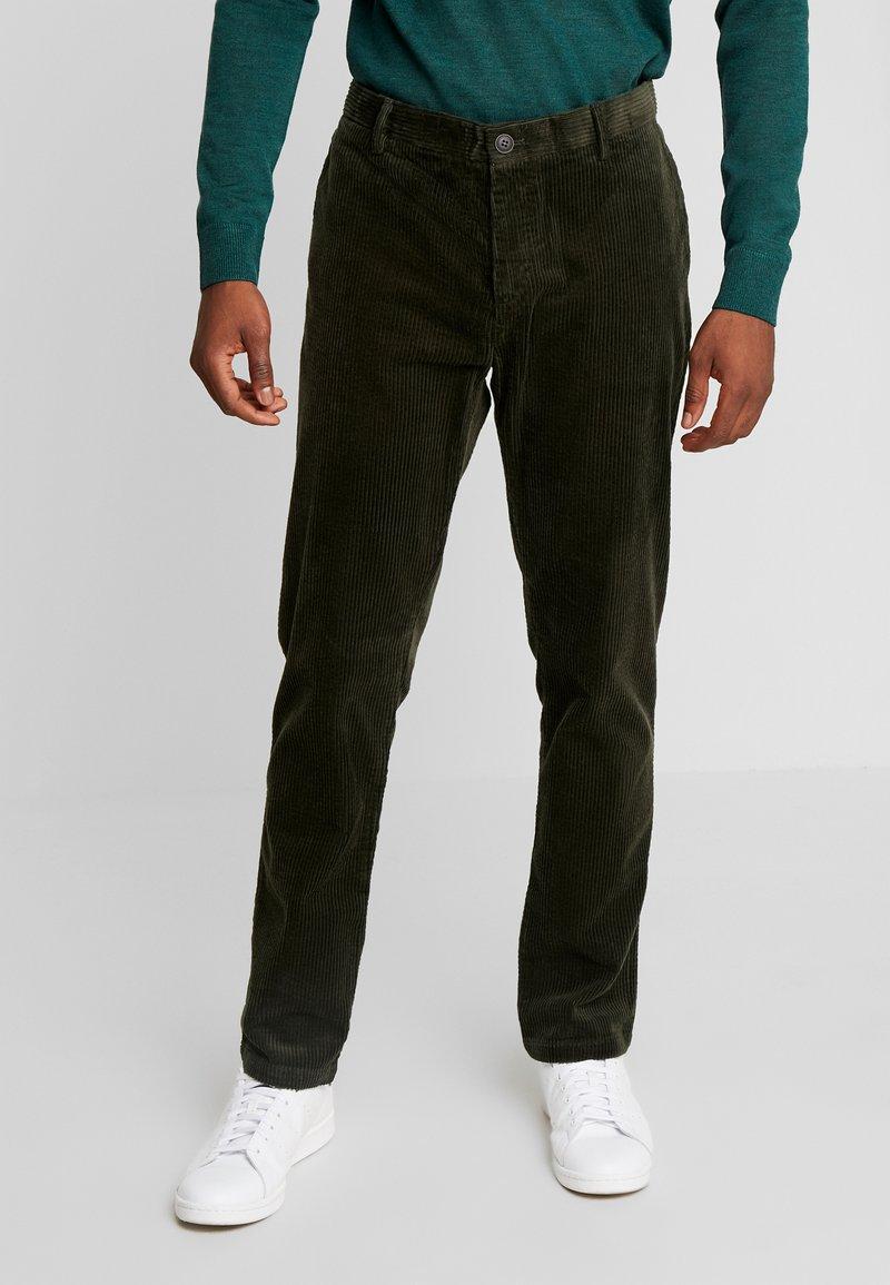Sisley - Trousers - khaki