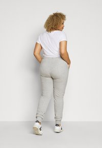 Fila Plus - EIDER PANTS - Verryttelyhousut - light grey melange bros - 2