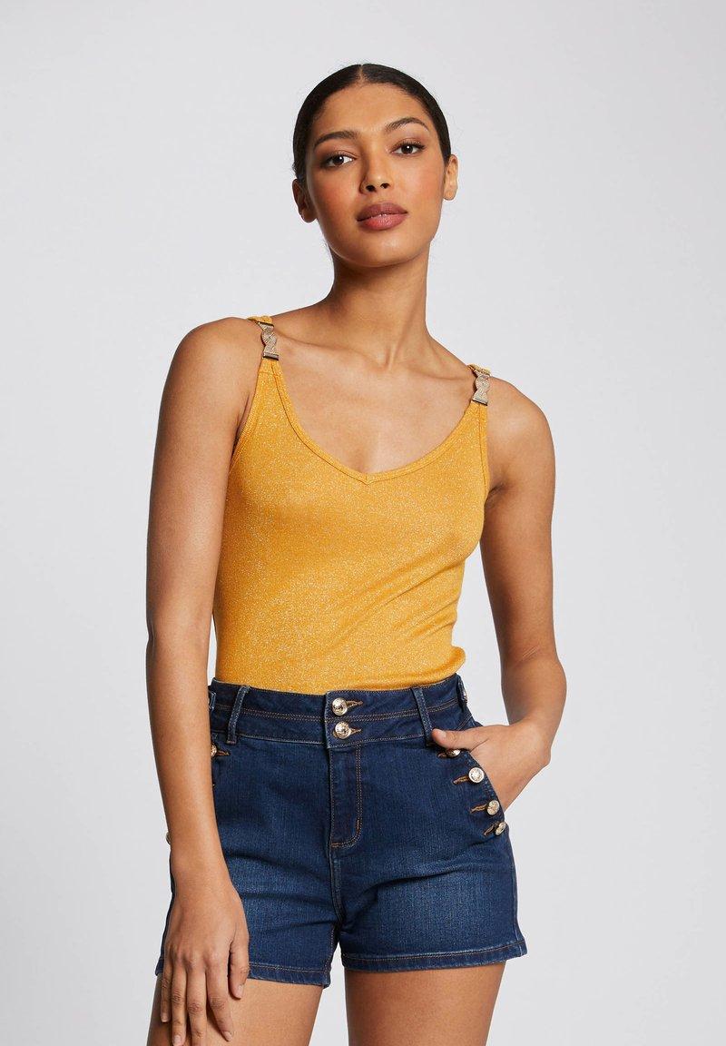 Morgan - Top - yellow