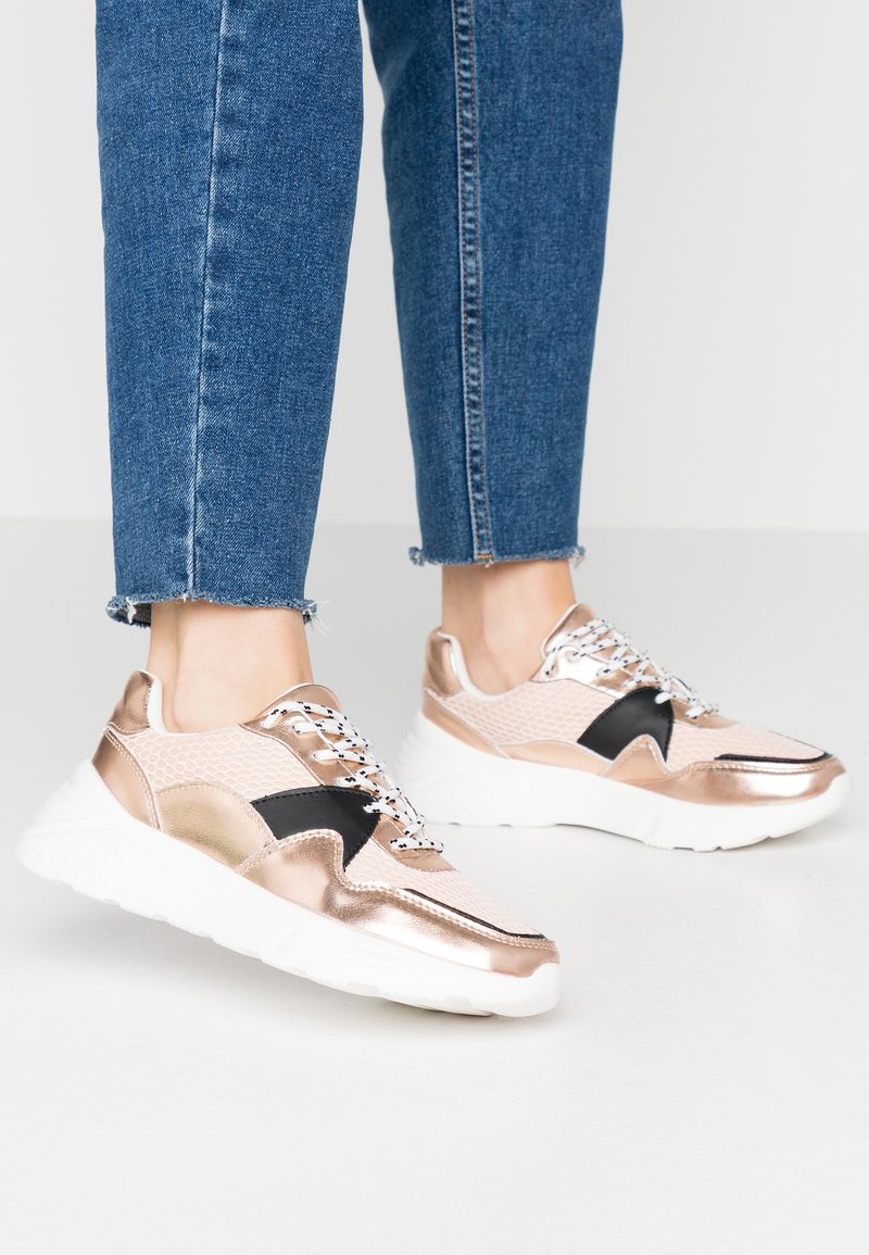 Dorothy Perkins - ISAAC CHUNKY TRAINER - Trainers - blush