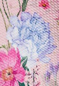 Next - BERRY FLORAL PONTE  - Day dress - light pink - 2