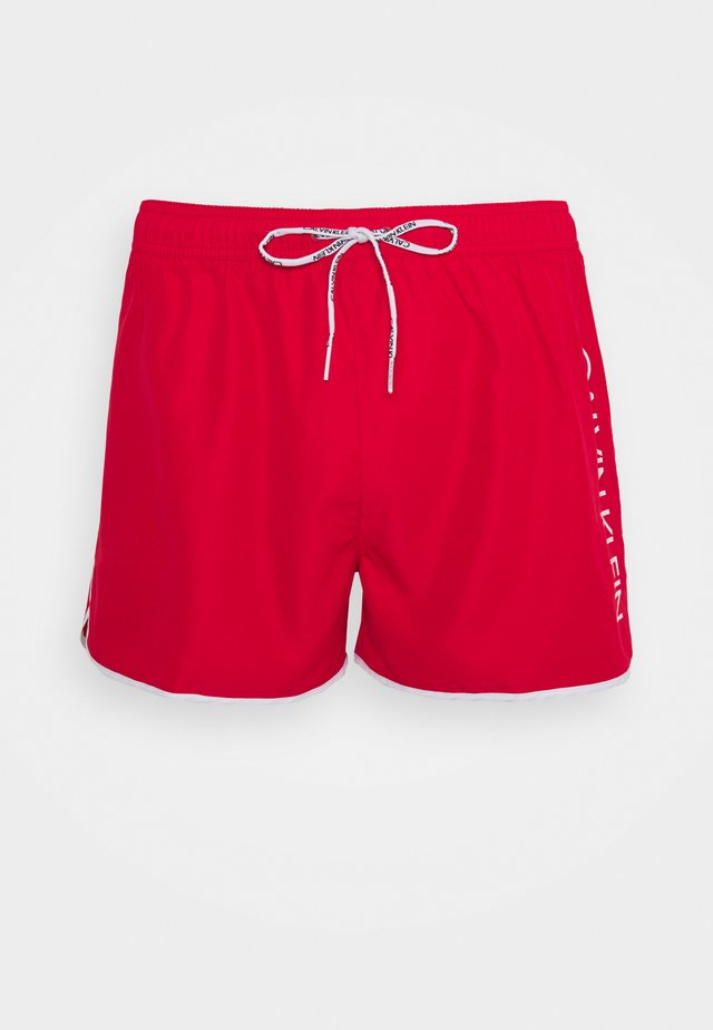 RUNNER - Shorts da mare - red