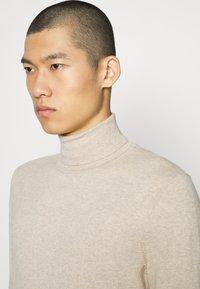 Zign - Stickad tröja - mottled beige - 4