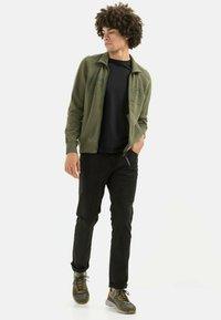 camel active - Zip-up sweatshirt - olive brown - 1