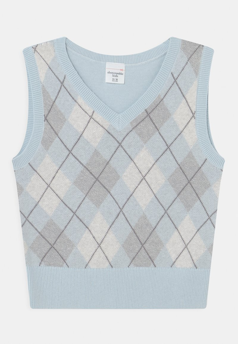 Abercrombie & Fitch - ARGYLE - Jumper - trend blue