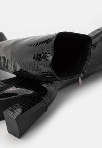 Koi Footwear - VEGAN - High heeled boots - black - 5