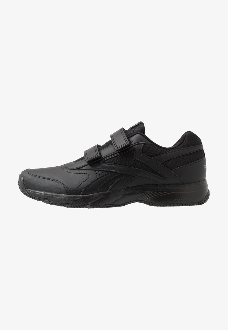 Reebok - WORK N CUSHION 4.0 KC - Obuwie do biegania Turystyka - black/cold grey