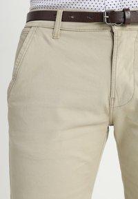 Lindbergh - CLASSIC  BELT - Shorts - sand - 3