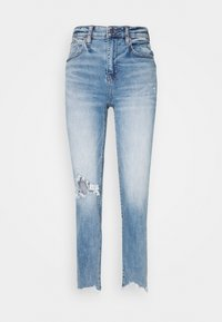 American Eagle - Jeans slim fit - indigo fray - 0