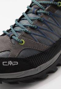 CMP - RIGEL LOW TREKKING SHOES WP - Obuwie hikingowe - graffite/marine - 5
