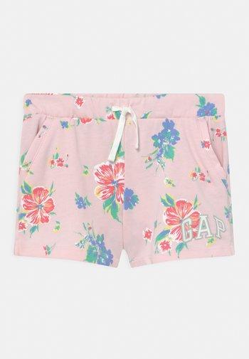 GIRL LOGO  - Shorts - cherry blossom