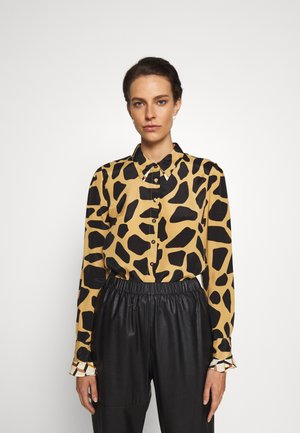 JOANNA TOP TWO - Button-down blouse - ochre