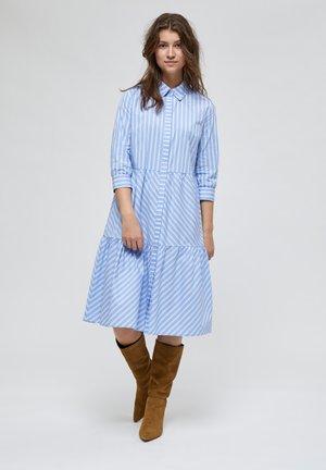 DALINA  - Shirt dress - powder blue stripe