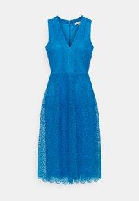 bright cyan blue
