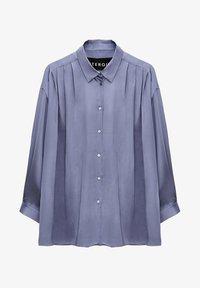 Uterqüe - Button-down blouse - light blue - 6