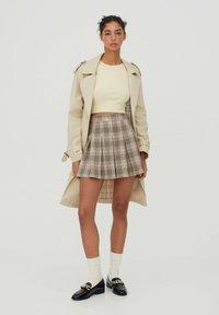 PULL&BEAR - A-snit nederdel/ A-formede nederdele - rose - 1