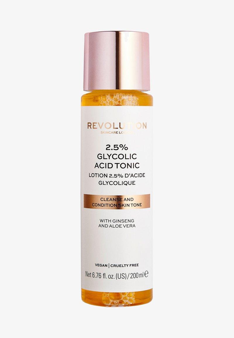 Revolution Skincare - 2.5% GLYCOLIC ACID TONER - Toner - -