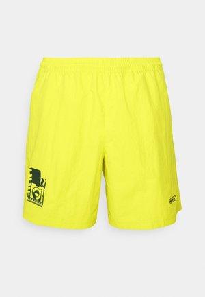 WOVEN UNISEX - Shorts - acid yellow
